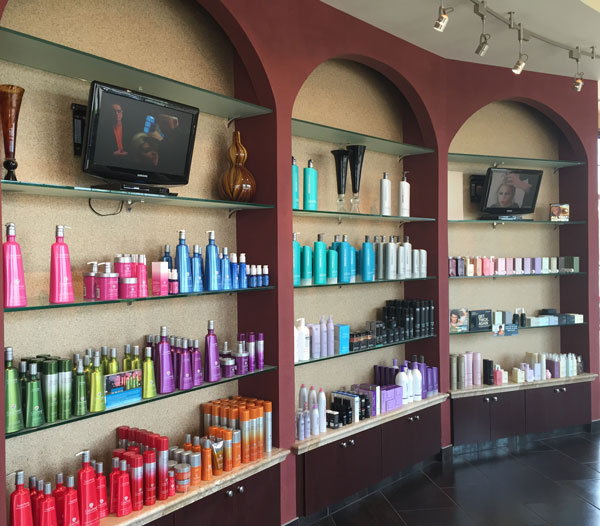 salon retail products